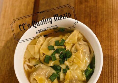 Pork Won Ton Noodle Soup